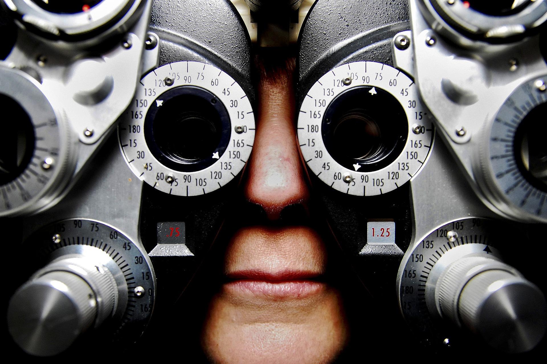 Měření zraku se nemusíte bát