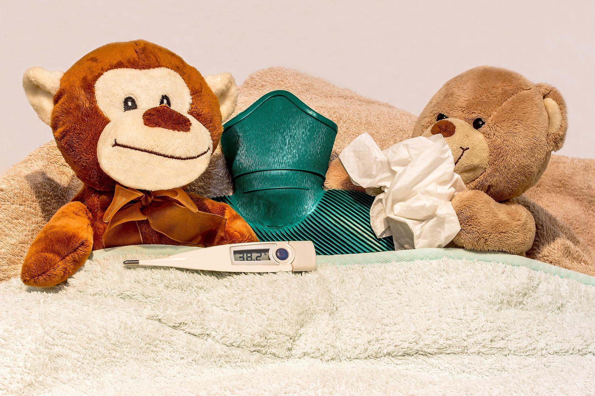 Jak se starat o dítě s horečkou